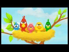 - V et E- Mémoriser des chants, comptines et jeux de doigts ---> Ils étaient 5 dans le nid