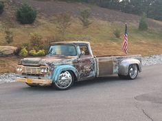 Lowered Trucks, Dually Trucks, Old Ford Trucks, Old Pickup Trucks, Hot Rod Trucks, Diesel Trucks, Cool Trucks, Big Trucks, Cool Cars