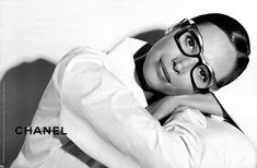 Ad Campaign: Chanel Eyewear Collection: Spring Summer 2008 Photography by Karl Lagerfeld Model: Christy Turlington