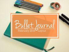 BuJo Feb Layout Titl