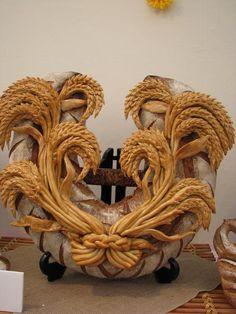 Neįtikėtini meno kūriniai iš duonos | Mamos receptai ~ Bread Art.