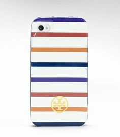 i have been waiting for this! Tory Burch iPhone 4 case will be available January 10, 2012!