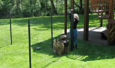 Fencing for Dogs | Temporary Outdoor Dog Enclosures  (I THINK THIS MIGHT BE WHAT BREN HAS)