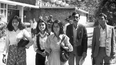 5.) Pre-Taliban Photo of Women in Afghanistan Looking Modern  A photo taken in the 1990s in Afghanistan reveals that before the Taliban took over women were far more modern. The women in the photograph would not look out of place on an episode of the 90s shows Friends or Frasier. One is dressed in a modern professional looking dress that falls to about knee length and the other has on a modern striped sweater and a knee length skirt