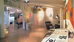 ArchMAZElab_Showroom Wallpepper ingresso