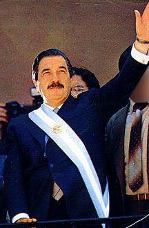 Raúl Ricardo Alfonsin el presidente más democratico de  la Argentina!!!