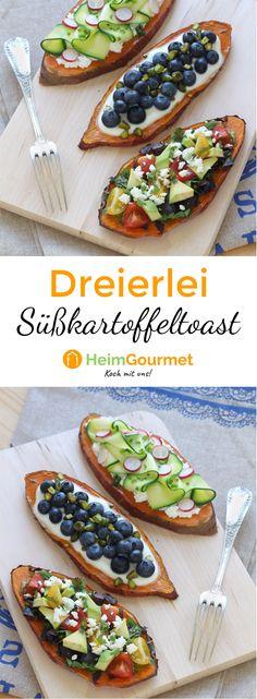 Die süßen und herzhaften Süßkartoffel-Toasts, die schon seit Monaten das Internet erobern, sind wirklich einen Versuch wert!