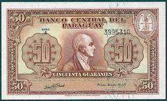 Paraguay 1000 guarani 1952 UNC Reproduction