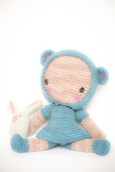 Amigurumi Doll pattern Diega by LosSospechosos on Etsy, $5.20