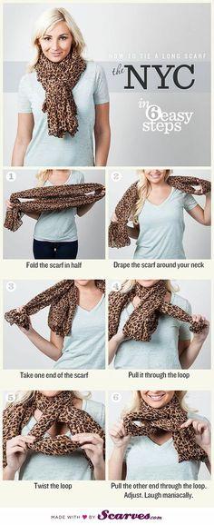 O inverno está chegando e nada mais charmoso que usar e abusar dos lenços e cachecóis para se aquecer. Quer saber como usá-los? Clique e fique por dentro!