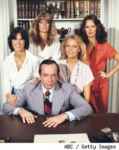 Charlie's Angels (1977-81) - Kate Jackson, Farrah Fawcett, Jaclyn Smith, Cheryl Ladd & David Doyle