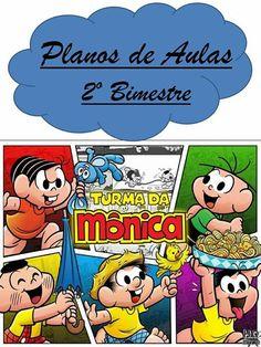 Planner para professor 2018 - Turma da Mônica