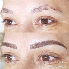 """131 Likes, 1 Comments - MarleyAndrade Micropigmentação (@marley.andrade) on Instagram: """"Preenchendo falhas, corrigindo assimetrias e destacando o olhar com a #micropigmentação!!! …"""""""