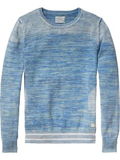 Melange Pullover | Pullovers | Men Clothing at Scotch & Soda