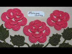 Как связать РОЗОЧКУ с завитком в центре цветка для ирландского кружева. Crochet roses. Видео мастер-класс. Обсуждение на LiveInternet - Российский Сервис Онлайн-Дневников
