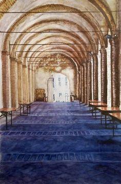 Shadow play II (Artem Sanctus - Fabriano) Aquarell 35 x 55 Fabriano Artistico 300gr