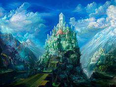 ewallpics: 30 Amazing Fantasy Landscape Wallpapers 1024x768