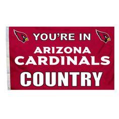 Arizona Cardinals Flag 3x5 Country