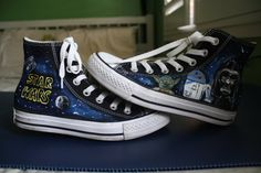 Star Wars Converse by ThoseInFavor on Etsy, $80.00
