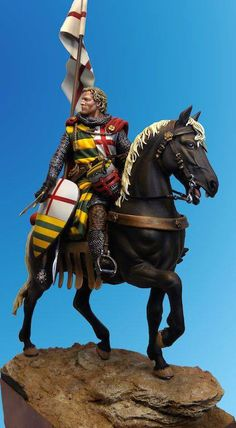 Medieval Knight, Medieval Armor, Medieval Fantasy, Roman Soldiers, Toy Soldiers, Modeling Techniques, Military Figures, Medieval Times, Knights Templar