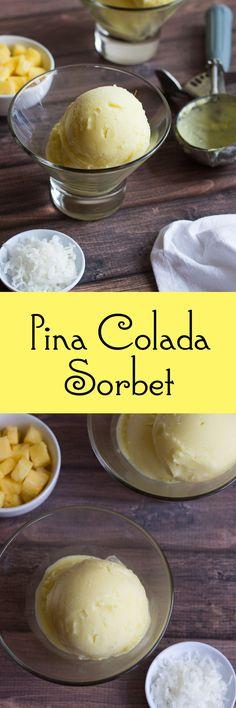 Pina ColadaSorbet