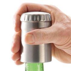Easy-Open Bottle Opener by Brookstone