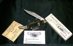 Camillus 7MM Knife Classic Cartridge Series Circa-1993 W/Packaging,Paperwork @ ditwtexas.webstoreplace.com