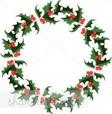 christmas decorations cartoon wreath - Google Search