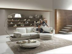 Small Natuzzi Sectional Sofa
