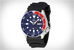 Seiko SKX009, the Pepsi version of the well known brother SKX007.