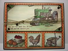 Mojo 246 Harvest Blessings by junior tx - Cards and Paper Crafts at Splitcoaststampers