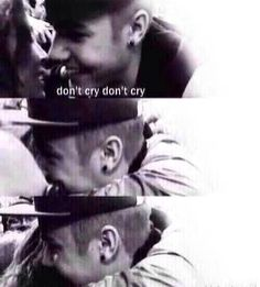 Don't you EVER tell me he doesn't care