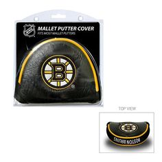 Team Golf Boston Bruins Mallet Putter Cover, Multicolor