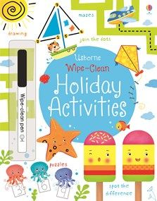 A wipe-clean book full of holiday-themed activities to help young children develop their counting, observation and pen control skills. Dinosaur Activities, Book Activities, Activity Books, Travel Activities, Maze Drawing, Travel Toys For Toddlers, Toddler Travel, Clean Book, Different Holidays