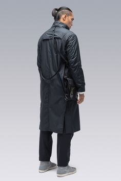 ACRONYM® Pocket Detail, Double Breasted, Raincoat, Casual, Clothes, Design, Street, Accessories, Fashion