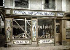 CHARCUTERIE A PARIS 1917 .