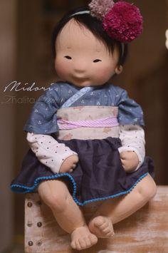 Irresistible Crochet a Doll Ideas. Radiant Crochet a Doll Ideas. Doll Crafts, Diy Doll, Doll Toys, Baby Dolls, Dolls Dolls, Asian Doll, Waldorf Dolls, Waldorf Crafts, Doll Tutorial