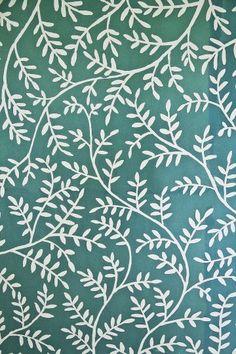 Emerald branch pattern from Indieness set | Luli Sanchez