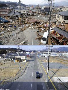 2012年3月11日もうすぐで東北地方太平洋沖地震から一年すごい復興の写真 | A!@attrip