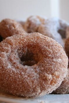 These super easy doughnuts are a quick and easy donut recipe! Cook the best donuts using milk, vanilla, confectioners sugar, and a few other simple ingredients. You will love cooking these donuts for breakfast, brunch, or dessert! Easy Donut Recipe, Donut Recipes, Dessert Recipes, Desserts, Confectioners Sugar, Doughnuts, Allrecipes, Super Easy, Sweet Treats