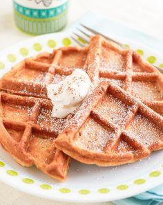 Easy Apple Cinnamon Waffles