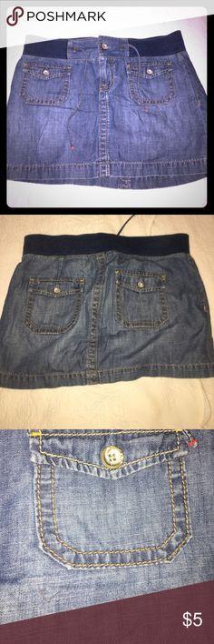 Gap skirt Gap jean skirt size 6 GAP Skirts