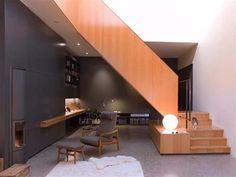 Εντυπωσιακά και μοντέρνα γραφεία στο σπίτι | Otherside.gr (13) Office Under Stairs, Space Under Stairs, Under Stairs Cupboard, Closet Office, Office Nook, Home Office Decor, Office Spaces, Office Ideas, Beds For Small Spaces