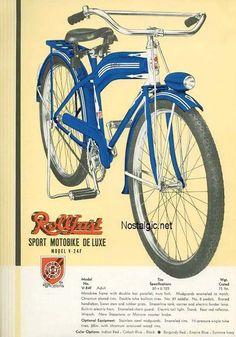 Vintage Rollfast ad