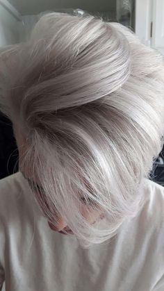 40 Hairstyles for Thick Hair Men's - Stylendesigns - Silver blonde for men - White Hair Men, Silver Blonde, Silver Hair Boy, Gray Hair, Blue Hair, Brown Hair, Human Hair Color, Hair Color For Men, Fade Haircut