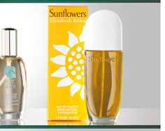 Elizabeth Arden Sunflowers Rose, jasmine, musk, cedar and sandalwood. Citrus and fruity. After Shave, Healthy Mind, Health And Beauty, Personalized Gifts, Fragrance, Perfume, Bottle, Jasmine, Eau De Toilette