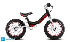 Amortyzowany rowerek biegowy Puky LR Ride (czarny) posiada lekką aluminiową ramę, lekkie opony Schwalbe, hamulec v-brake, stery a-head... i jakość firmy Puky. Rowerek biegowy Puky LR Ride przeznaczony jest dla 3+ latka, wzrost od 90 cm, nóżka od 39 cm.