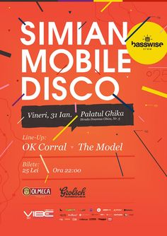Simian Mobile Disco Lineup