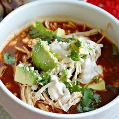 This authentic Mexican Chicken Tortilla Soup recipe is so easy to make and you will love it! Check it out here and make it tonight! Authentic Mexican Recipes, Mexican Food Recipes, Easy Soup Recipes, Healthy Chicken Recipes, Cooking Recipes, Cake Recipes, Authentic Chicken Tortilla Soup, Comida Latina, Gastronomia