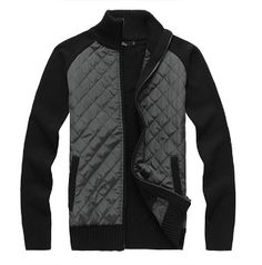 Korean fashion : Men's Knit Zipper style Sweater Cardigan